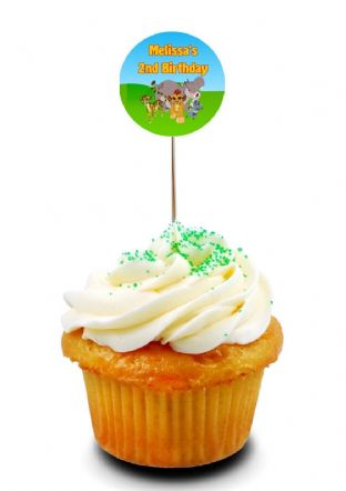 The Lion Guard Cupcake Picks/Toppers